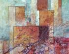 Torri, antiche pietre e uva cm 40x40