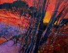 paesaggio toscano 8 - cm 40x40
