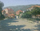 Street-in-Obzor-oil-landscape-painter-Daniil-Belov