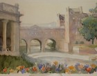 Pulteney bridge Bath 36x16cm