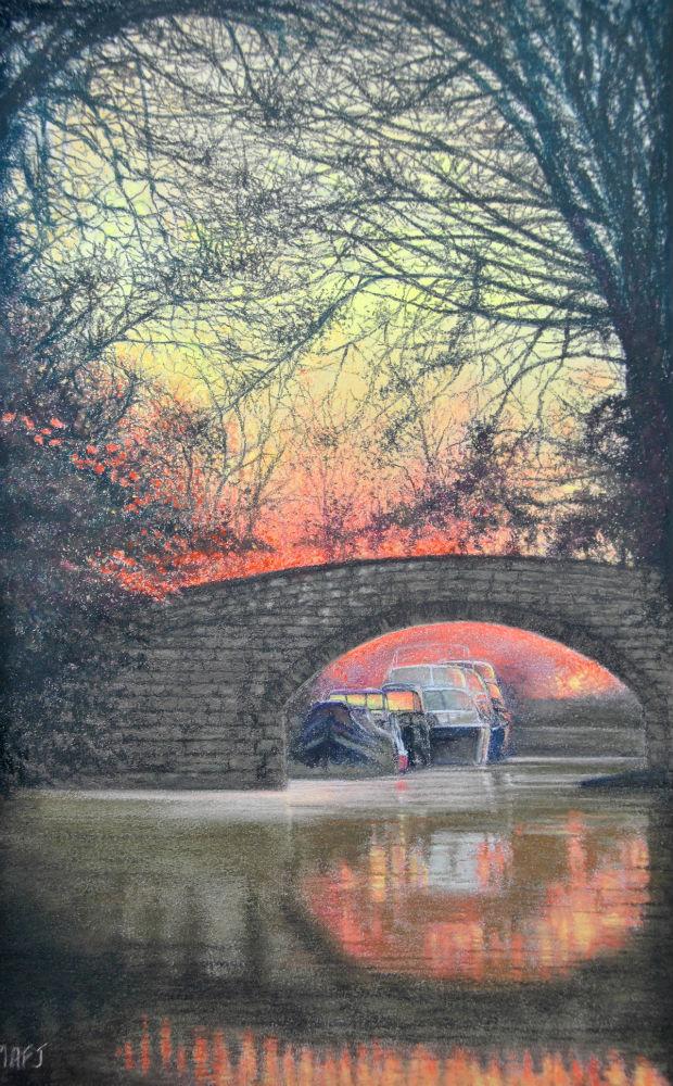Canal-sunset-1-artfinder