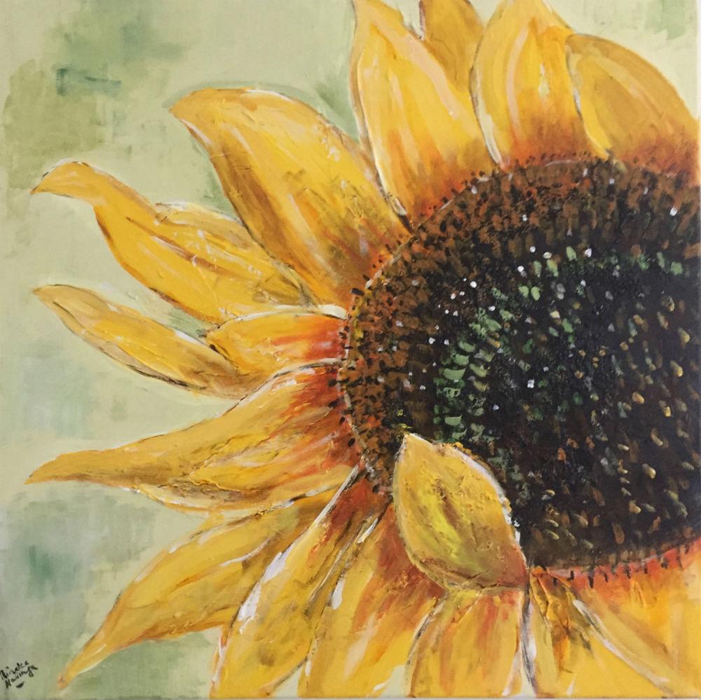 Smaller Sunflower I