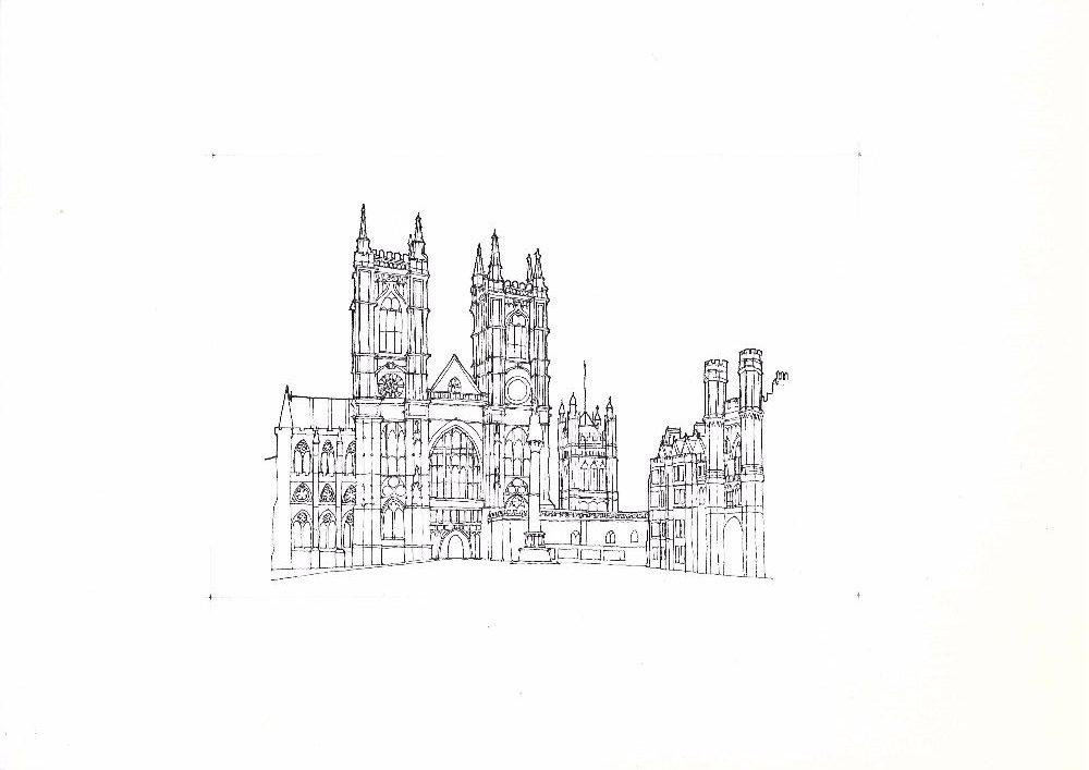 Westminster Palace sketch scan Sept16