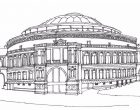 Royal Albert Hall sketch scan Dec16