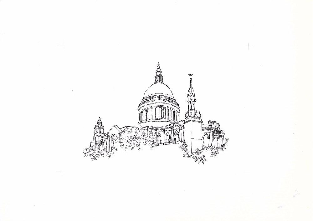 St Pauls sketch scan Sept16