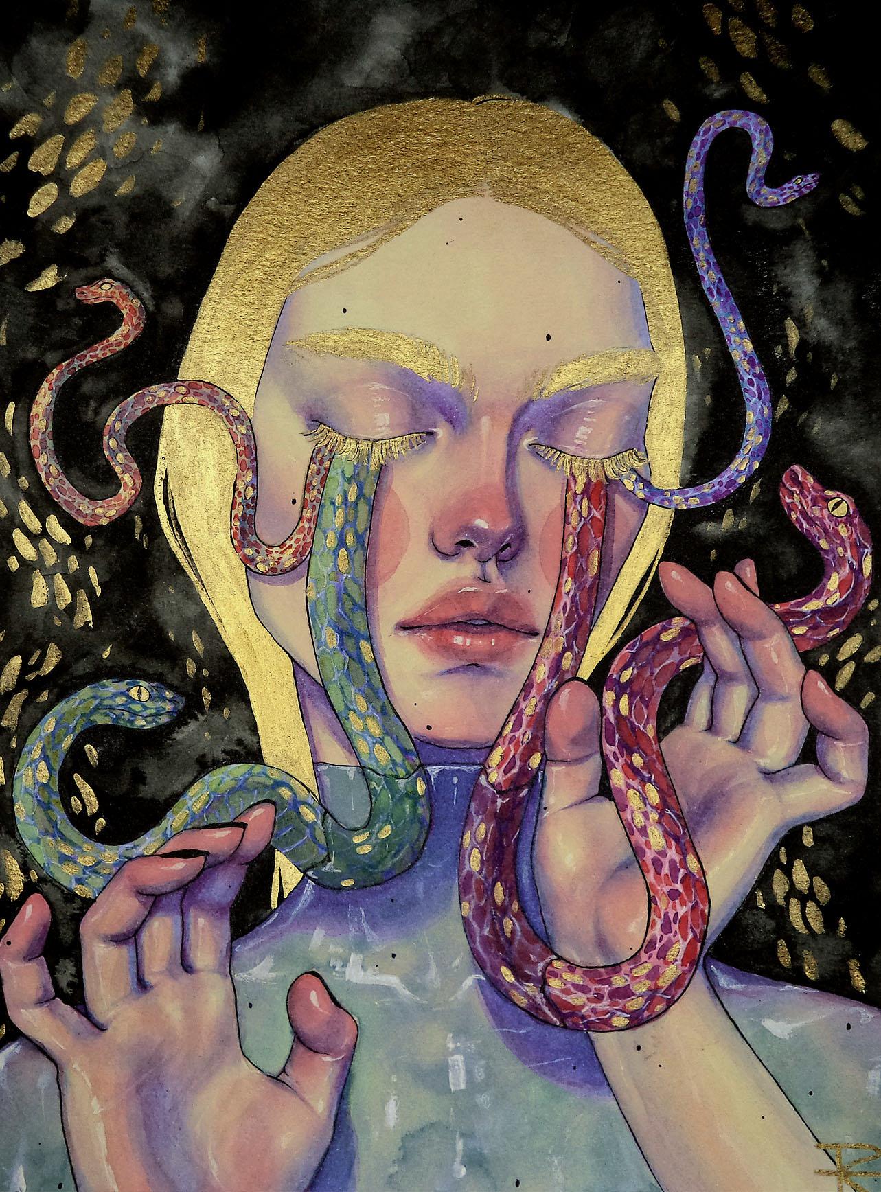 Lágrimas de serpiente